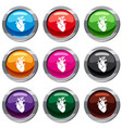 heart set 9 collection vector image