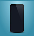 phone with a black screen object electronics vector image