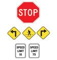 StreetSigns vector image