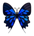 Big butterfly icon cartoon style vector image