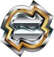 Fancy symbol vector image vector image