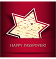 Happy Passover vector image