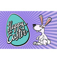 Ears of an Easter rabbit vector image
