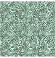 Pattern with curls and loops vector image
