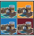 photo equipment vector image