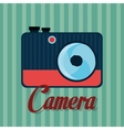 Photography and camera vintage design vector image