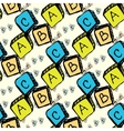 abc blocks seamless pattern vector image