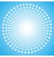 Abstract circular tunnel vector image