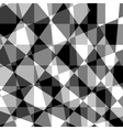 Black grey white abstract geometric background vector image