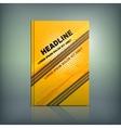 Tire Brochure 02 B vector image