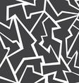 monochrome mosaic seamless pattern vector image