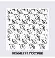 Leaves plant seamless pattern vector image