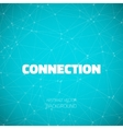 Lines geometric connections vector image