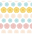 Abstract decorative circles stars striped seamless vector image