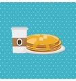 Breakfast icon design vector image