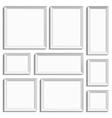All kinds of frames vector image