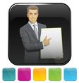 application vector image vector image