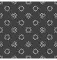 Bacterium seamless pattern vector image