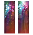 lights banners vector image vector image