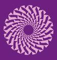 pattern circle vector image
