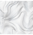 Abstract black and white stripes background vector image