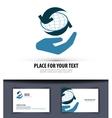 business logo design template world or vector image