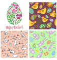 Easter set vector image