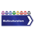 MULTICULTURALISM vector image