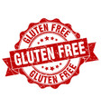 gluten free stamp sign seal