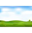 beautiful landscape vector image