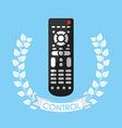 control remote vector image