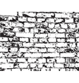 texture of old brickwork vector image