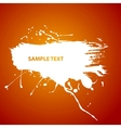 Water paint vector image