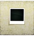 Golden Grunge Banner vector image vector image