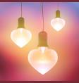 romantic festive bright template vector image