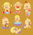 Baby Expression 1 vector image