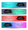 4 in 1 Poligon geometric Backgrounds for Banner vector image