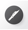knife icon symbol premium quality isolated cutter vector image