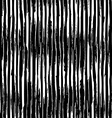 seamless pattern of vertical chalk brush strokes vector image