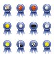 Sports Award Ribbons vector image