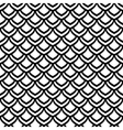 Seamless fish scale texture vector image