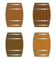 barrel set vector image