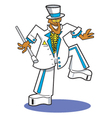 Funky groom vector image vector image