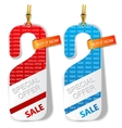 special offer labels vector image vector image