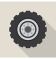 Transport car wheel drive service vector image vector image