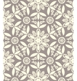 Floral ethnic pattern vector image