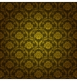 damask seamless floral pattern vector image vector image