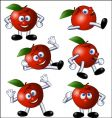apple action vector image