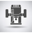 Plunger milling cutter icon vector image