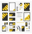 Modern corporate style template vector image vector image